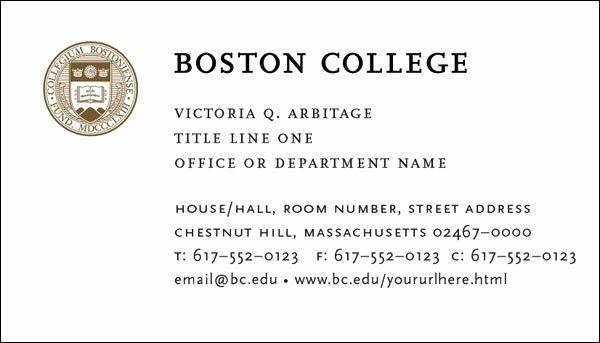 Student Business Cards Template New College and Graduate Student Business Cards Template