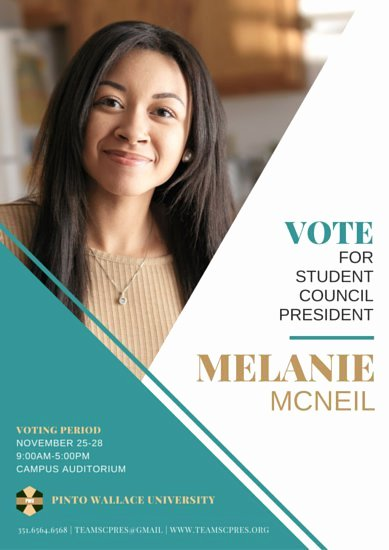Student Council Poster Template Awesome Campaign Poster Templates Canva