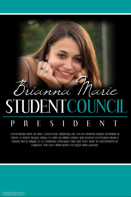 Student Council Poster Template Best Of Student Council Template