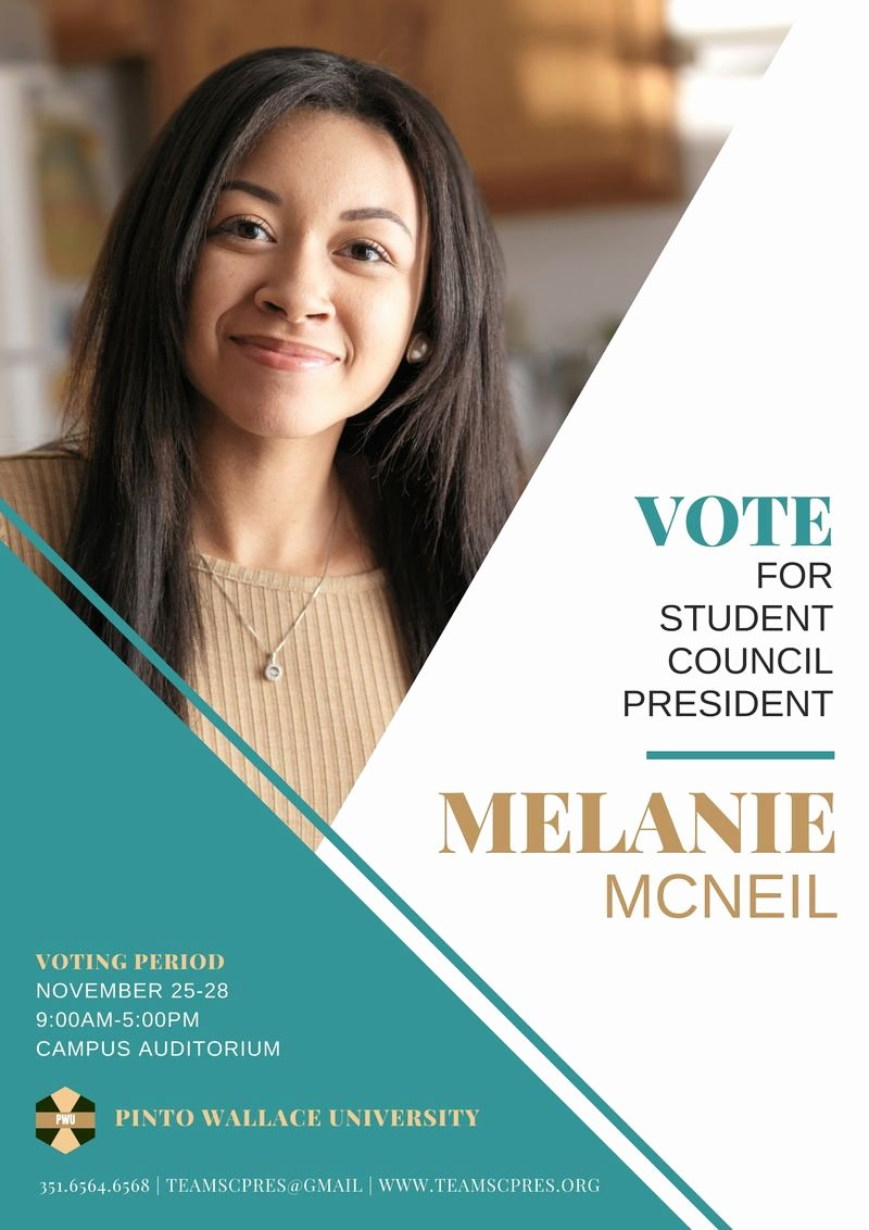 Student Council Poster Template New 10 Techniques to Help You Win the Student Council Election