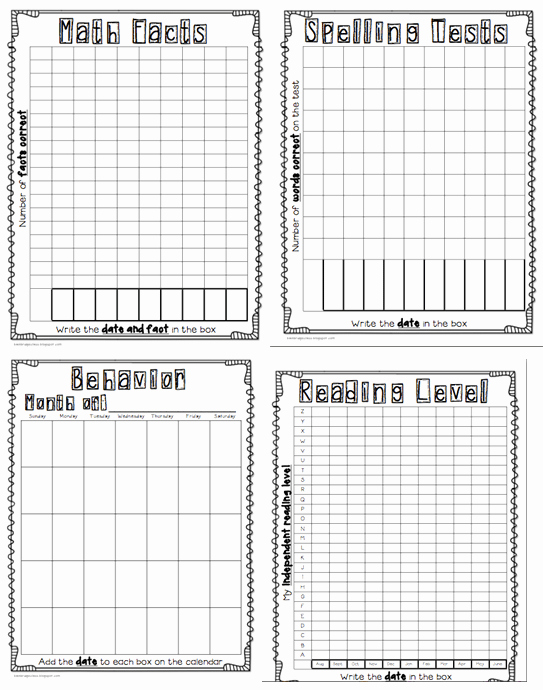 Student Data Tracking Template Fresh 16 Teacher Hacks for Making Data Collection A Piece Of Cake