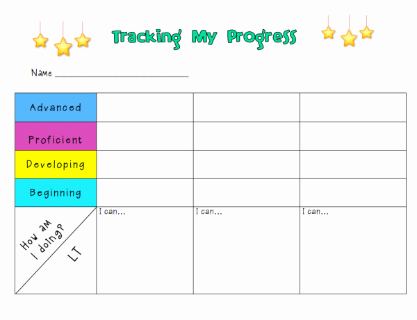 Student Tracking Sheet Template Fresh Ms Houser Tag Archive
