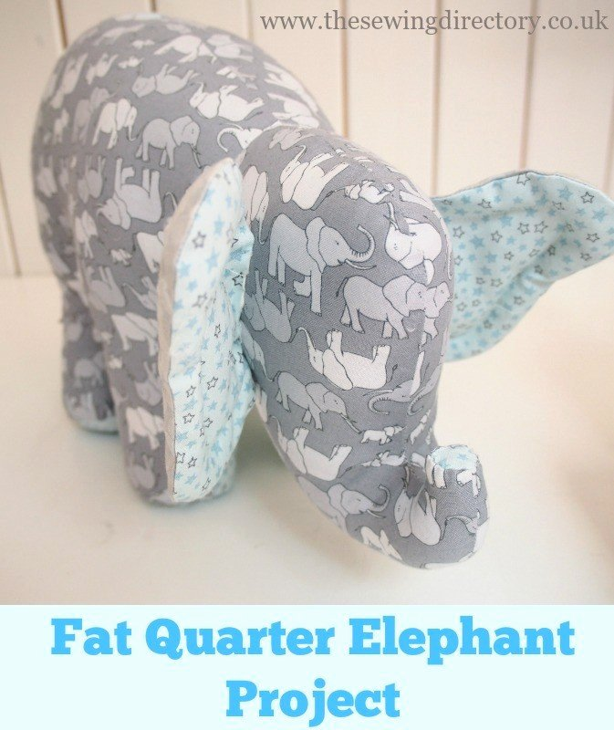 Stuffed Elephant Pattern Template Awesome Elephant toy Project