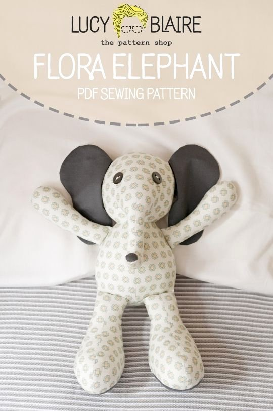 Stuffed Elephant Pattern Template New Best 25 Elephant Pattern Ideas On Pinterest