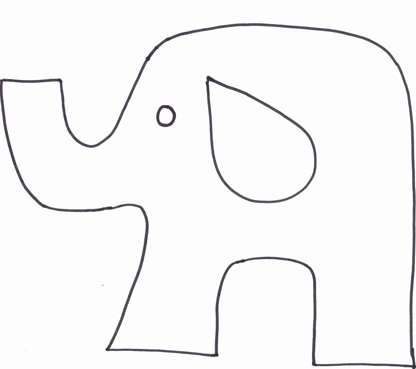 Stuffed Elephant Pattern Template Unique Elephant Stuffed Animal Patterns Free