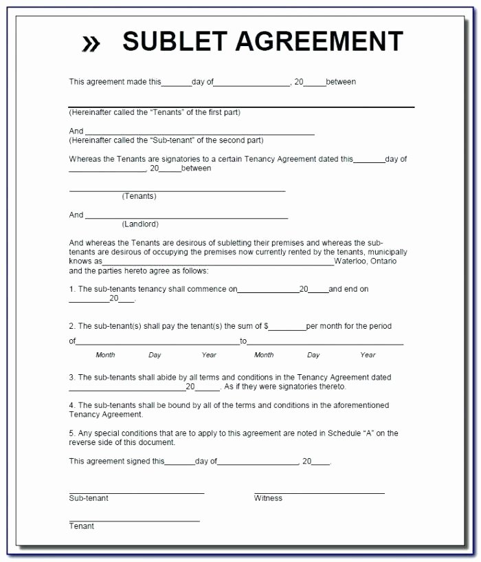 Sublease Agreement Template California Awesome Sublease Agreement Template California Mercial Sublease