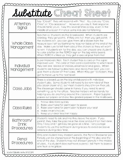 Substitute Lesson Plan Template Luxury Pretty Resume organization Secretary Resume