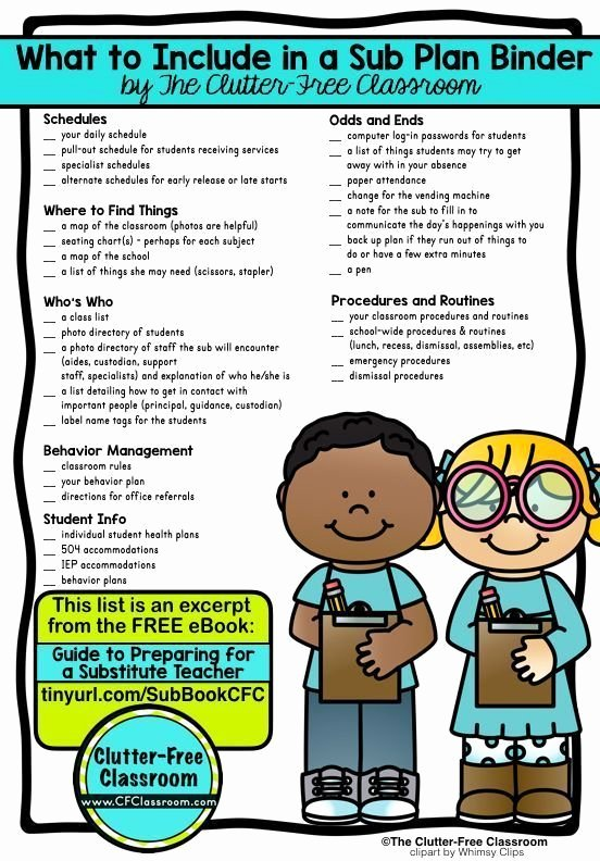 Substitute Teacher Report Template Elegant 1000 Ideas About Substitute Teacher forms On Pinterest