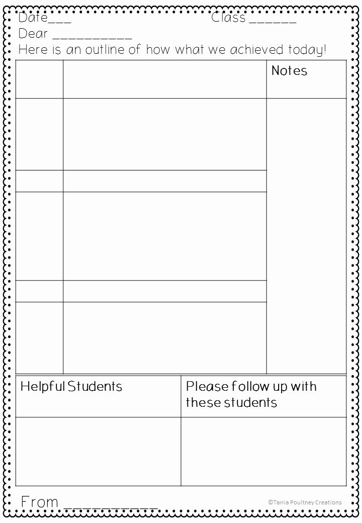 Substitute Teacher Report Template Unique Free Printable Substitute Teacher Feedback form Any