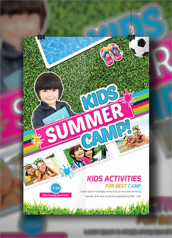 Summer Camp Flyer Template Awesome 26 Summer Camp Flyer Templates Word Psd Ai Eps Vector