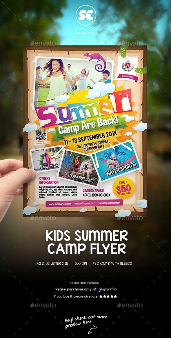 Summer Camp Flyer Template Best Of 17 Best Images About Summer Camp Marketing Ideas On