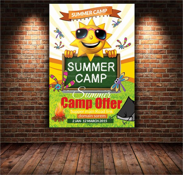 Summer Camp Flyer Template Inspirational 17 Summer Camp Flyer Templates Word Psd Ai Eps Vector
