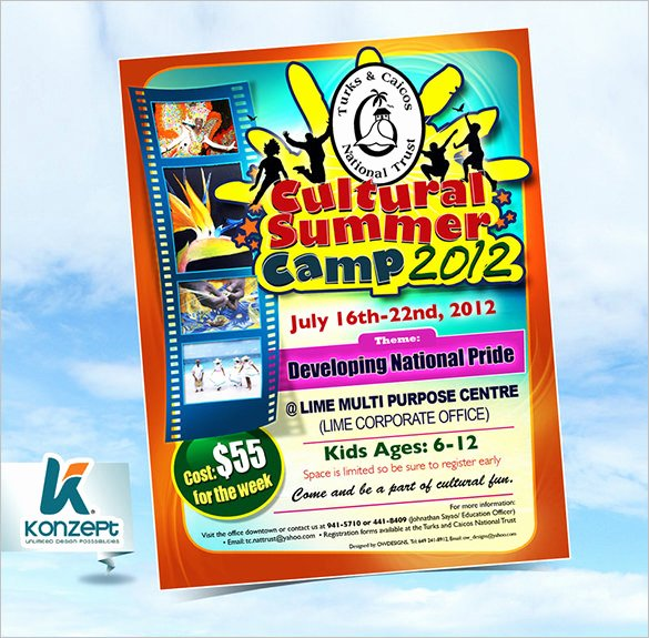 Summer Camp Flyer Template Lovely 51 Summer Camp Flyer Templates Psd Eps Indesign Word