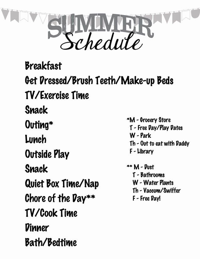 Summer Camp Schedules Template Fresh 100 Ideas to Try About Screen Time Chore Chart