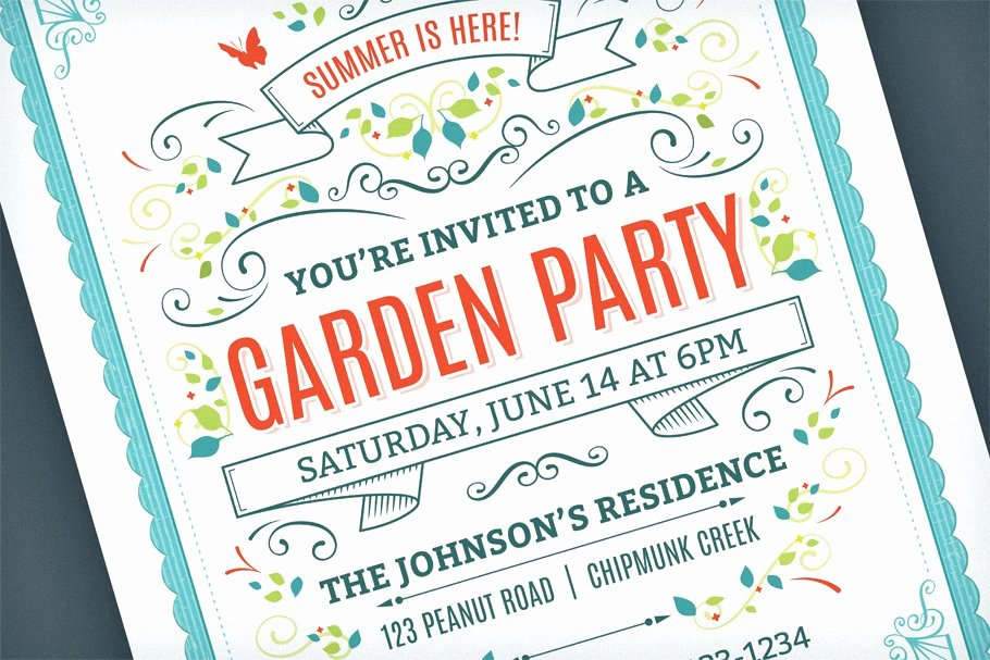 Summer Party Invitation Template Awesome Summer Party Invitation Template Invitation Templates