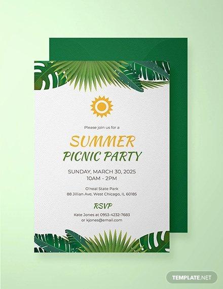 Summer Party Invitation Template Beautiful Free Teddy Bear Picnic Birthday Invitation Template