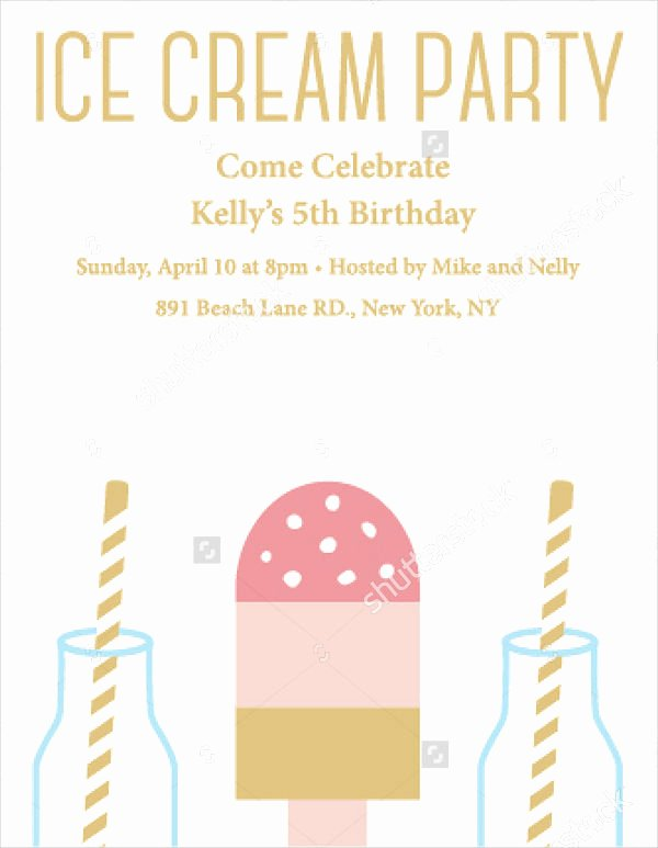 Summer Party Invitation Template Lovely 18 Summer Party Invitations Psd Ai Eps