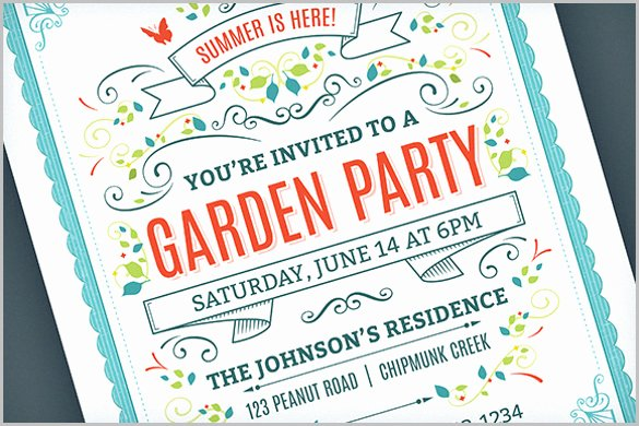 Summer Party Invitation Template New 33 Party Invitation Templates Free Psd Vector Eps Ai