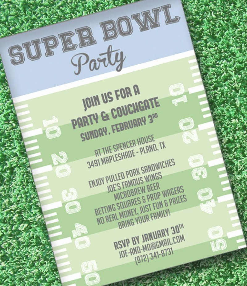 Superbowl Party Invitation Template Best Of Super Bowl Invitation Templates – orderecigsjuicefo