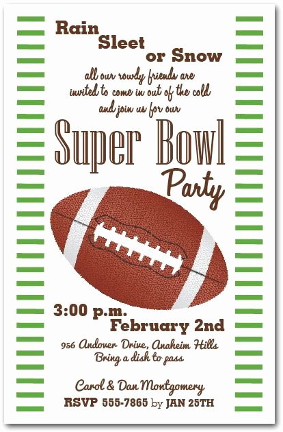 Superbowl Party Invitation Template Luxury Super Bowl Party Invitation Super Bowl Party