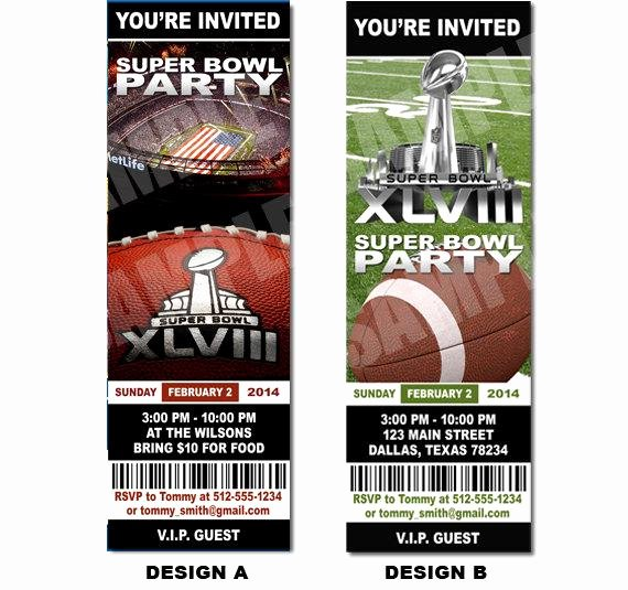 Superbowl Party Invitation Template Luxury Unavailable Listing On Etsy