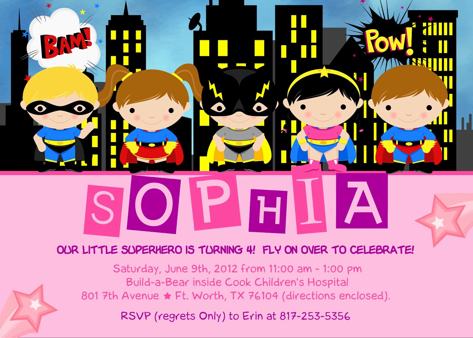 Superhero Birthday Invitation Template Beautiful the Kaminski Chronicles Happy Birthday Party Super