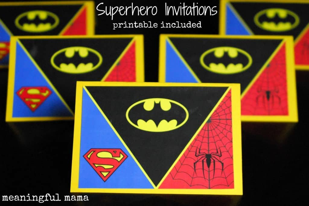 Superhero Birthday Invitation Template Unique How to Create A Superhero Backdrop