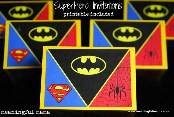 Superhero Invitation Template Free Beautiful 9 Best Of Free Superhero Printable Invitations