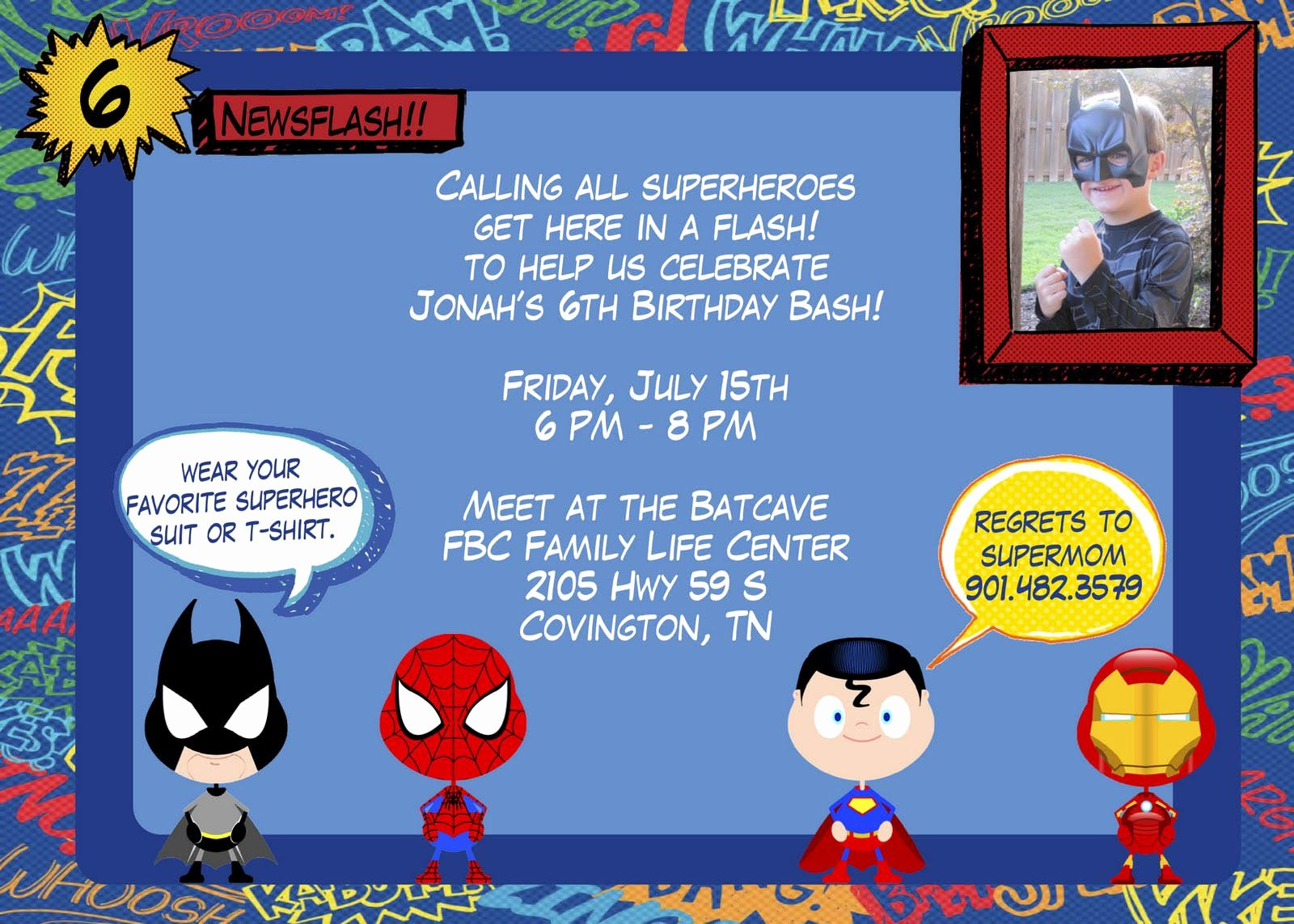 Superhero Invitation Template Free Luxury How to Arrange A Superhero Birthday Party
