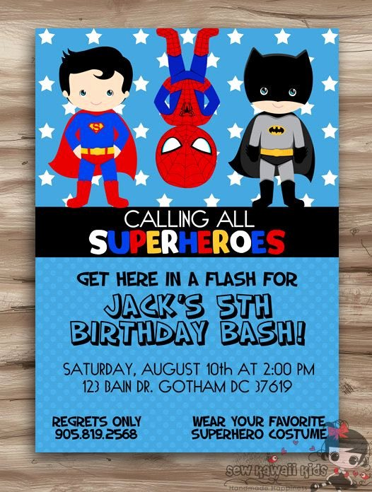Superhero Invitation Template Free New Free Superhero Invitation Template Best 25 Superhero