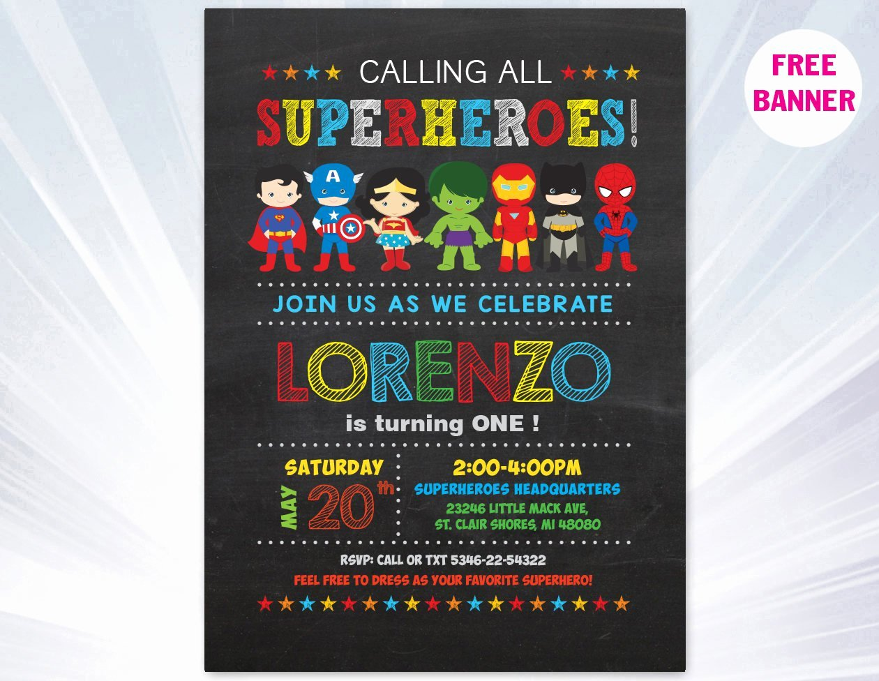 Superhero Invitations Template Free Inspirational Super Hero Invitation Superhero Invitation Templates