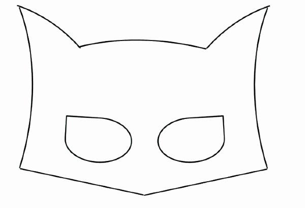 Superhero Mask Template Pdf Elegant Masquerade Mask Template Printable Pdf Blank – Skincense