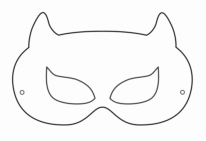 Superhero Mask Template Pdf New Superhero Printables