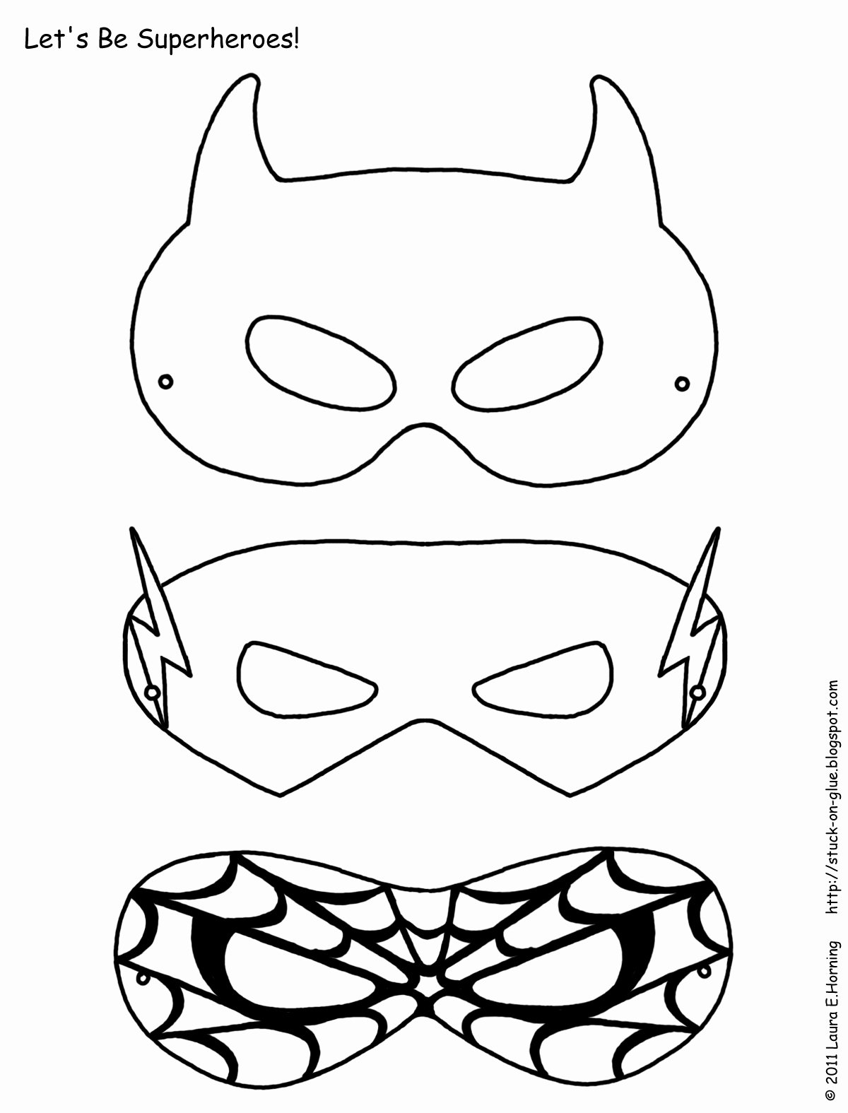 Superhero Mask Template Pdf Unique A Z Schoolers Super Hero Father S Day