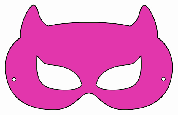 Superhero Mask Template Pdf Unique Printable Halloween Masks