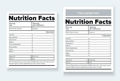 Supplement Facts Label Template Beautiful Free Food Label Templates Name Free Paw Patrol Food Label