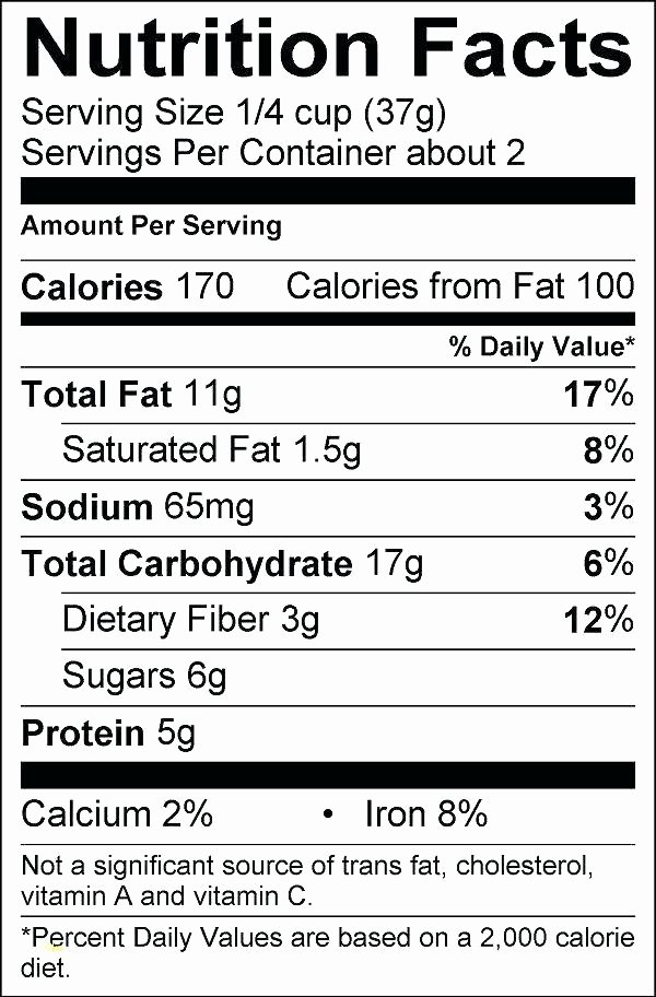 Supplement Facts Label Template Inspirational Supplement Facts Label Template Blank Nutrition Label