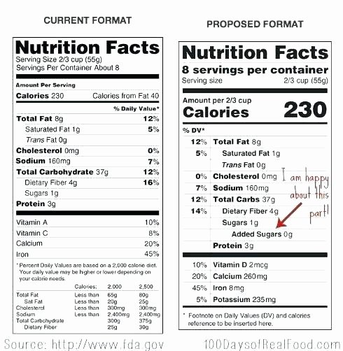 Supplement Facts Label Template Lovely Supplement Facts Label Template