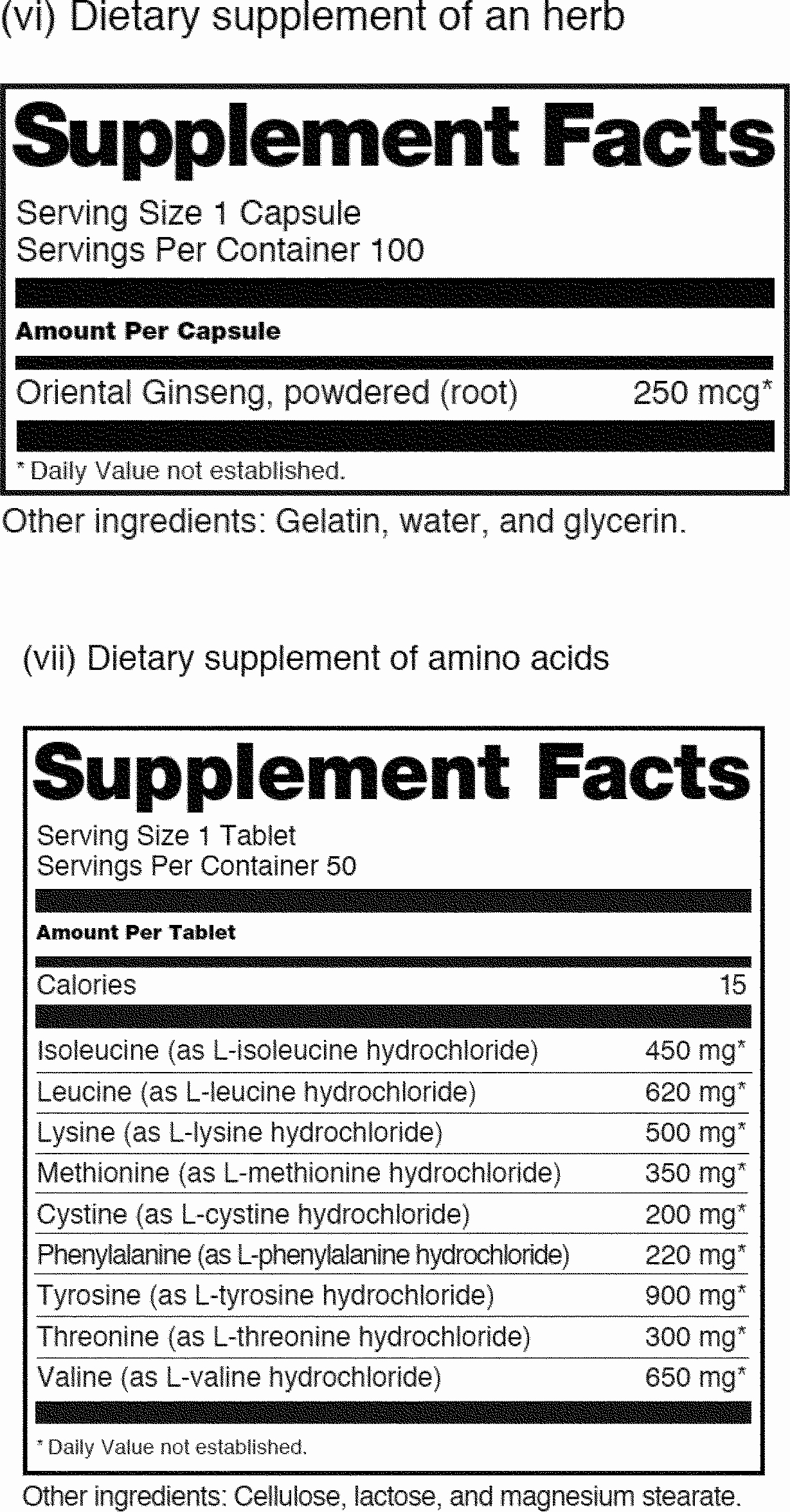 Supplement Facts Label Template Unique Nutrition Facts for Love Free Printable Awesome Collection