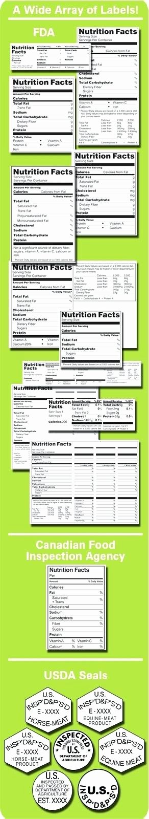 Supplement Facts Label Template Unique Nutrition Facts Label Template Google Docs