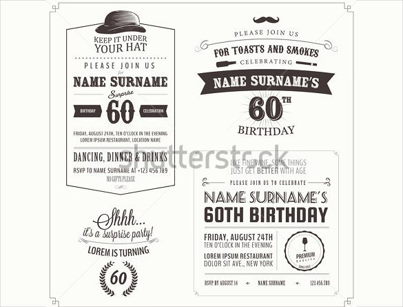 Surprise Party Invitation Template Fresh 26 Surprise Birthday Invitation Templates – Free Sample