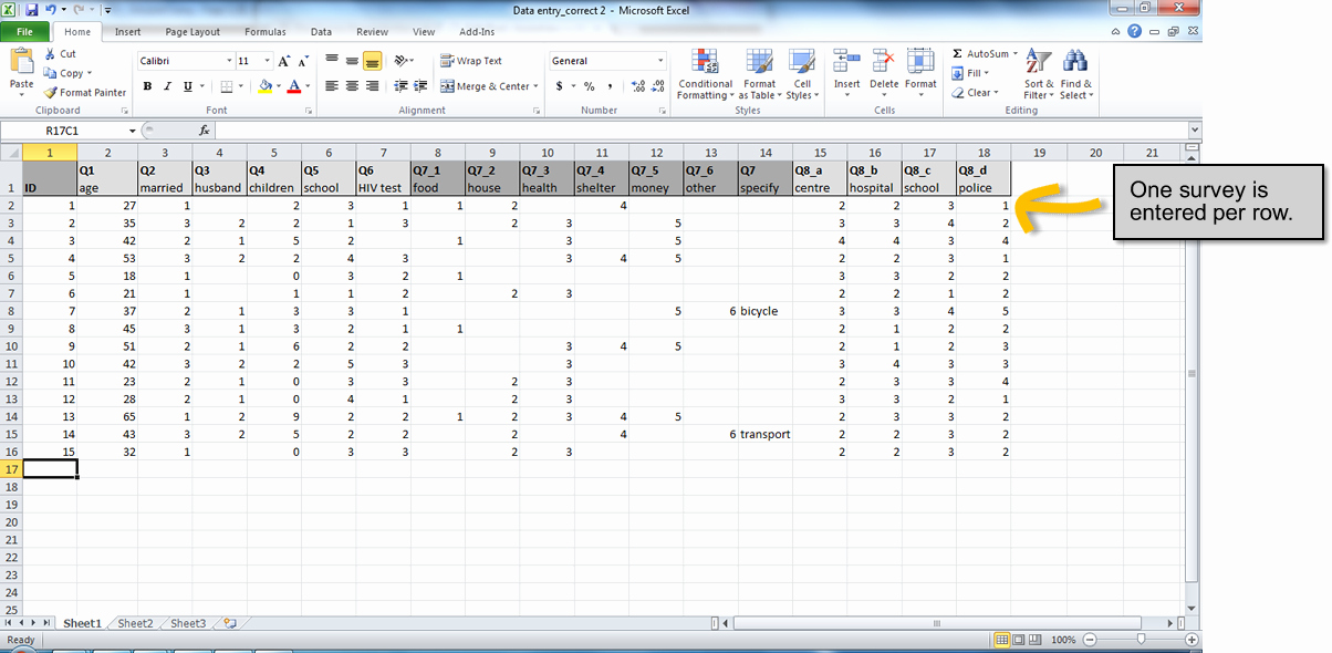 Survey Results Excel Template Awesome How to Set Up An Excel Spreadsheet for Survey Results