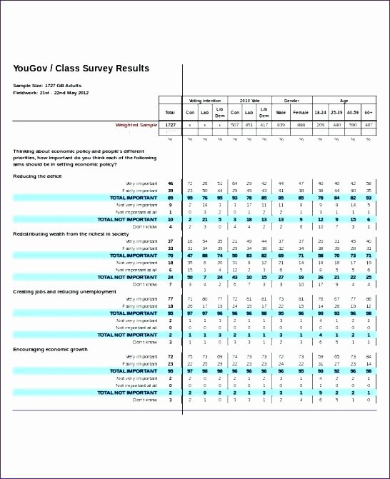 Survey Results Excel Template Best Of Survey Results Excel Template Templates Collections