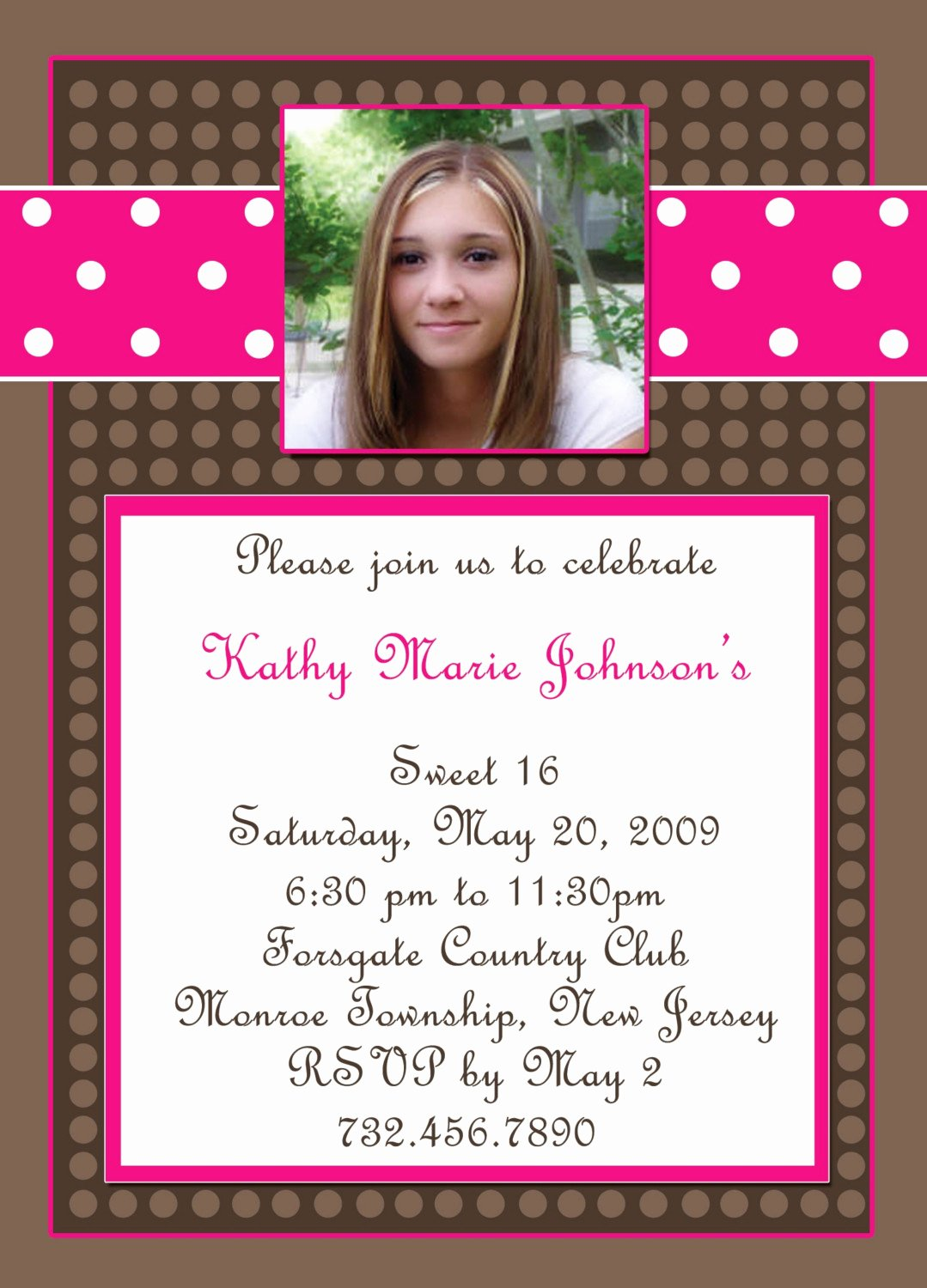 Sweet 16 Invitation Template Elegant Sweet 16 Party Invitations Templates