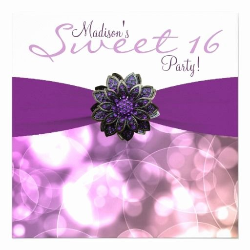 Sweet 16 Invite Template New 1000 Images About Sweet 16 Invitation Templates On