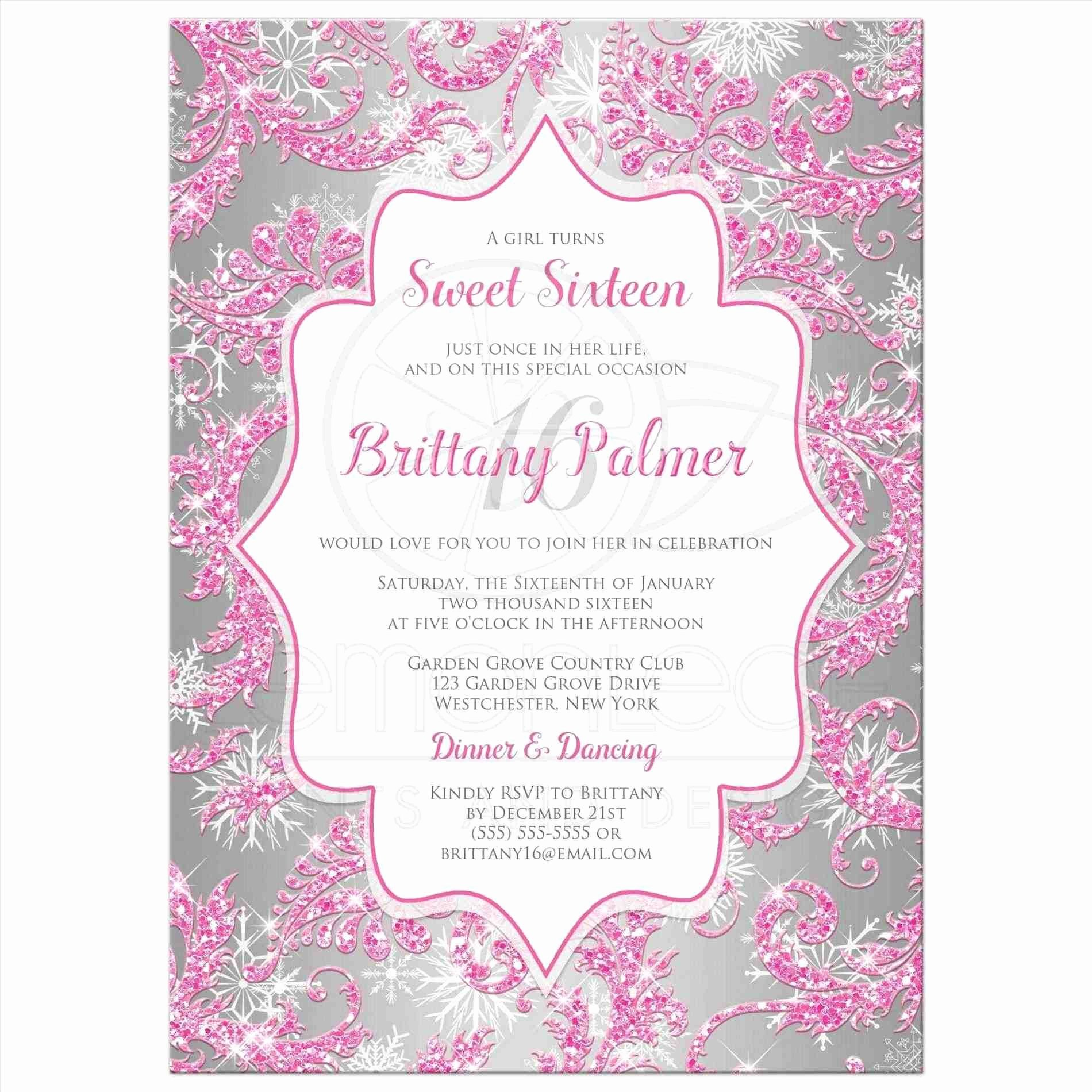 Sweet Sixteen Invitation Template Awesome Extraordinary Boys 16th Birthday Invitation Wording for