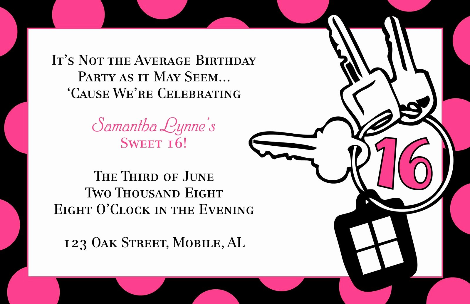 Sweet Sixteen Invitation Template Beautiful Sweet 16 Invitation Quotes Quotesgram