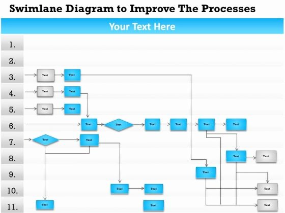 Swim Lane Diagram Template Beautiful Swim Lane Diagram Template Powerpoint