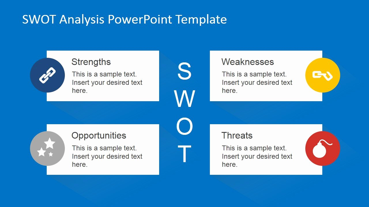 Swot Analysis Ppt Template Awesome Animated Swot Analysis Powerpoint Template Slidemodel