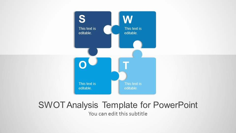 Swot Analysis Ppt Template Awesome Swot Analysis Powerpoint Template Slidemodel